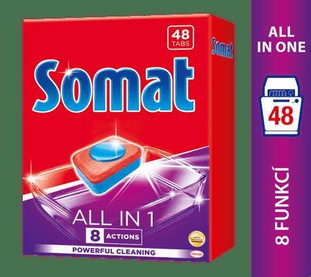 Somat All in One 48 tabliet do umývačky