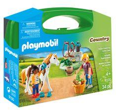 Playmobil kovček za negovanje konja, 9100