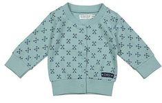 Dirkje fantovski pulover z gumbi z geometrijskim vzorcem