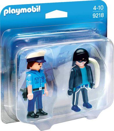 Playmobil policaj in ropar 9218