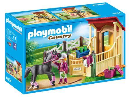 Playmobil konjušnica z Arabcem 6934