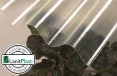 LanitPlast Sklolaminát vlna 94/35 síla 0,71 mm čirá