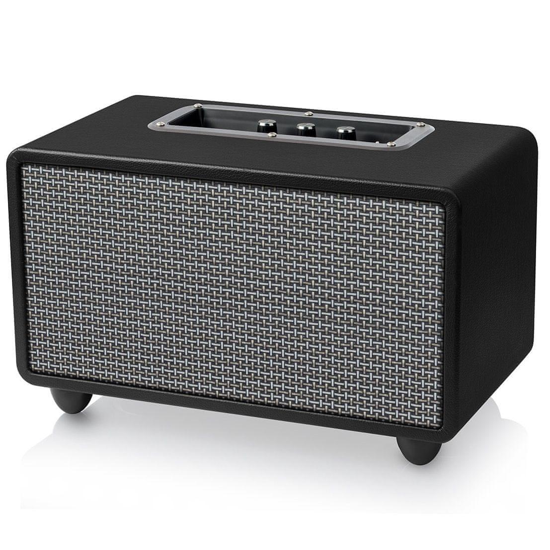Brezžični zvočnik Niceboy BOOGIE classic je izdelan iz kakovostne konstrukcije iz usnja