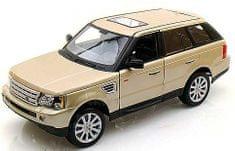 BBurago model samochodu Range Rover Sport 1:18, złoty