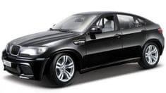 BBurago model samochodu BMW X6 M 1:18, czarny