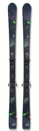 FISCHER Narty zjazdowe PRO MT 80 TI TRP + MBS 11 PR 166 czarny/zielony