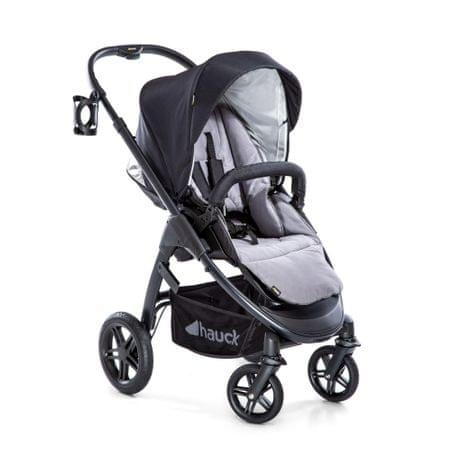 Hauck iPro Saturn R 2020 otroški voziček, caviar/stone