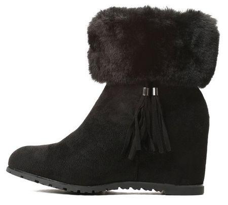 Vices dámská kotníčková obuv 38 čierna