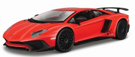 BBurago Lamborghini Aventador SV coupe 1:24 - piros