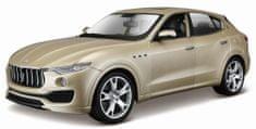 BBurago model samochodu Maserati Levante 1:24, złoty