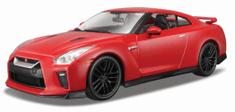 BBurago model samochodu 2017 Nissan GT-R 1:24, czerwony