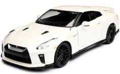 BBurago model samochodu 2018 Nissan GT-R 1:24, biały