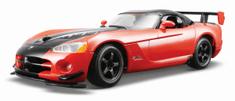 BBurago Dodge Viper SRT 10A CR 1:24 červený