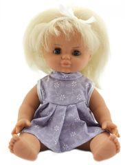 Teddies dojenček v oblekici, 30 cm, temno modra