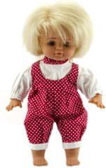 Teddies dojenček v oblekici , 35 cm, roza