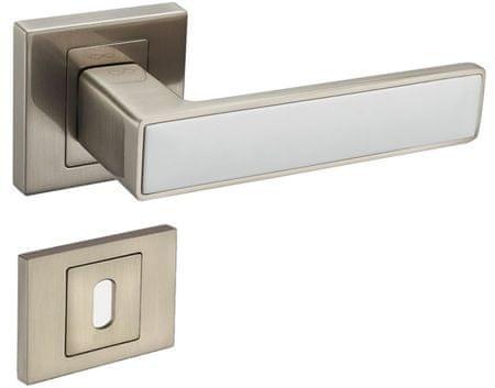 Infinity Line Concept 300/800 satina/bílý - klika ke dveřím - pro pokojový klíč