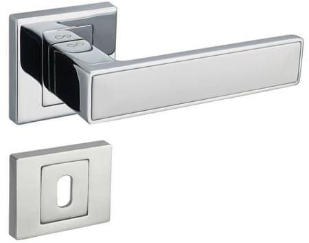 Infinity Line Concept 700/800 chrom/bílý - klika ke dveřím - pro dózický klíč