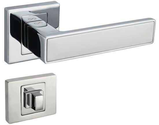 Infinity Line Concept 700/800 chrom/bílý - klika ke dveřím - s wc kličkou