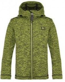 Loap dětský svetr s kapucí Gitan 112/116 zelená