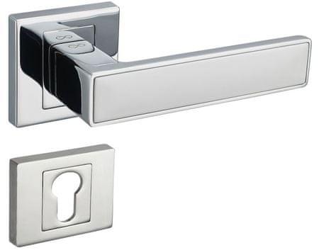 Infinity Line Concept 700/800 chrom/bílý - klika ke dveřím - pro cylindrickou vložku