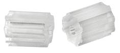 Troli Műanyag fülbevaló záróelem - 3 pár