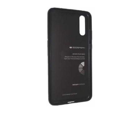 Goospery ovitek i-Jelly Metal za iPhone Xs Max, črn