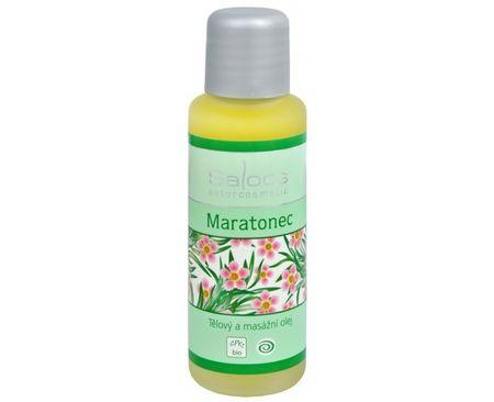 Saloos Bio telový a masážny olej - Maratónec (Objem 50 ml)