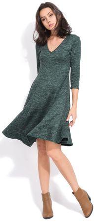 FILLE DU COUTURIER ženska obleka Emeraude, 40, zelena