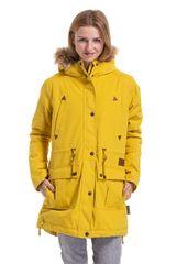 MEATFLY Dámska bunda Rainy 3 Parka Yellow