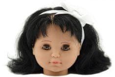 Teddies glava lutke za česanje, črnolaska