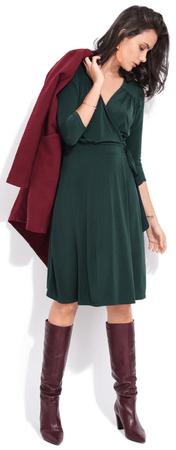FILLE DU COUTURIER ženska obleka Estelle, 42, zelena