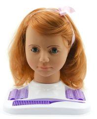 Teddies glava lutke za česanje v setu, črnolaska