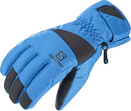 Salomon moške rokavice Force M Hawaiian Surf/Black, M, modro-črne