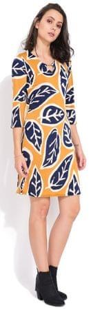 FILLE DU COUTURIER ženska obleka Lesly, 42, rumena