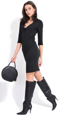 e46259092b60 FILLE DU COUTURIER dámské šaty Deborah 36 černá