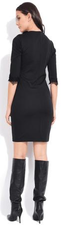 b86fcf705e81 FILLE DU COUTURIER dámské šaty Deborah 42 černá