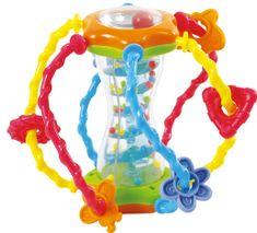 Teddies BABY Koule edukační chrastítko 15 cm