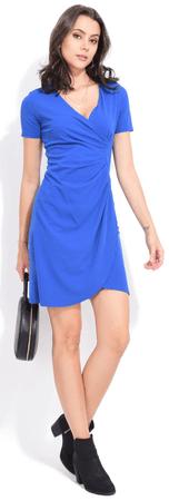 FILLE DU COUTURIER ženska obleka Tango, 42, modra