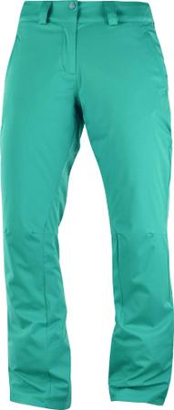 Salomon ženske softshell pohodniške hlače Stormpunch Pant W Waterfall, S, svetlo modre