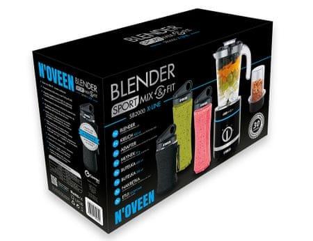 N'OVEEN Blender Sport Mix & Fit SB2000 Xline