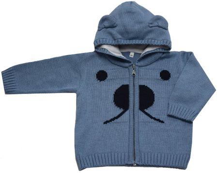 EKO chlapčenský sveter s ňufáčikom 92 modrá