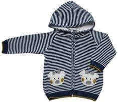 EKO chlapčenský pruhovaný sveter