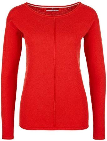 s.Oliver Panie sweter Red 05.710.61.3380.30X1 (rozmiar 34)