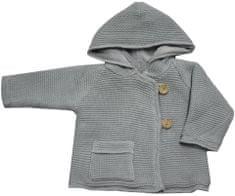 EKO dievčenský sveter s gombíkmi