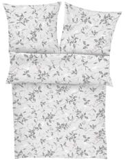 Ibena Virágok Madarakkal Mintás pamut szatén ágynemű