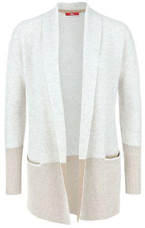 s.Oliver Ladies cardigan 05.710.64.2582.02X0 Biały (rozmiar 42)