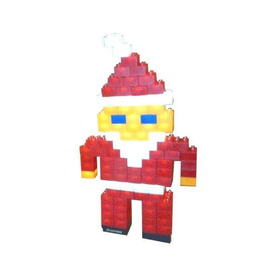 Light Stax Svítící stavebnice Show Case Santa Claus - rozbaleno
