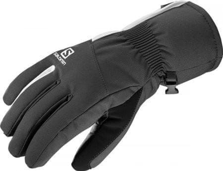 Salomon moške rokavice Propeller Dry W Black/White, S, črno-bele