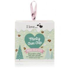 I Love Cosmetics Darčeková sada s vôňou mäty Minty Choc Chip ( Mini Treat Box)