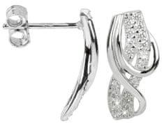 Silver Cat Ezüst fülbevaló cirkónia kővel SC188 ezüst 925/1000